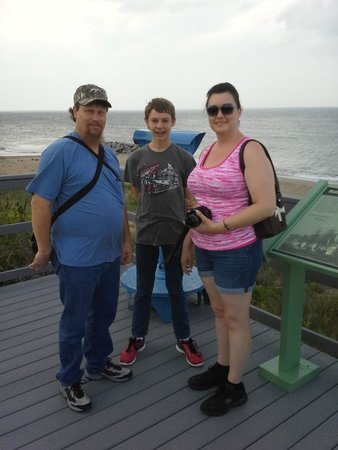 Cape Henry Lighthouse: Fort Story lookout