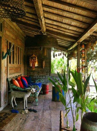 Desa Seni, A Village Resort: Veranda