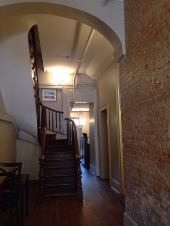 Inn on St Ann: Stairway up to our suite