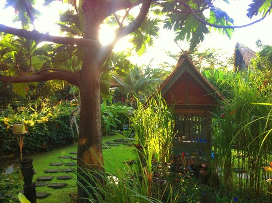 Desa Seni, A Village Resort: View of another day bed from our room