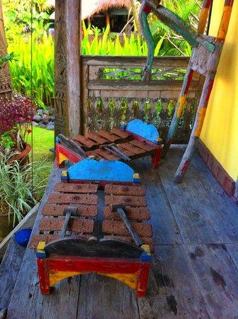 Desa Seni, A Village Resort: Gamelan on our Veranda