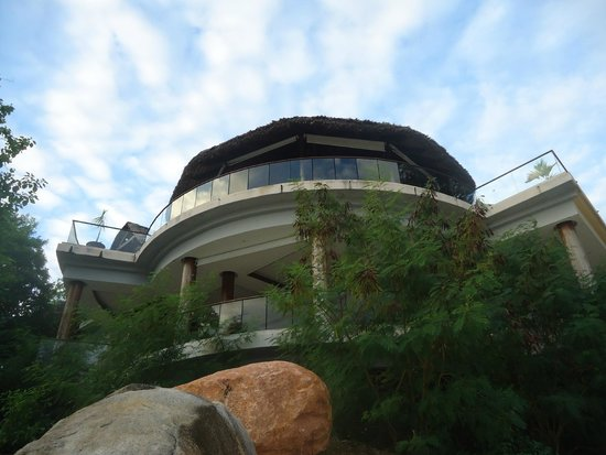 Cerf Island Resort : the restaurent