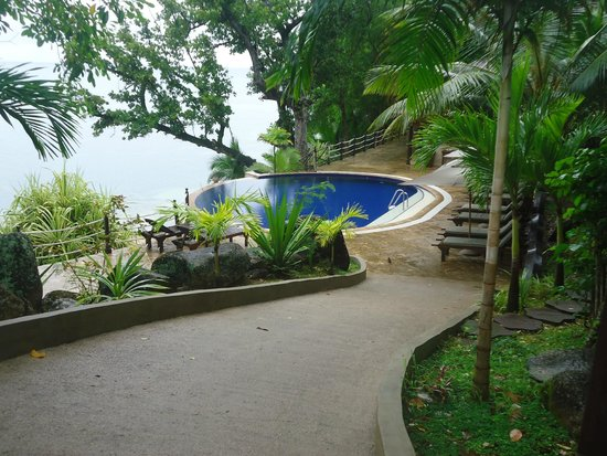 Cerf Island Resort : the pool at the reception