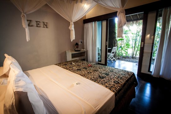 Bali Hotel Pearl: View from your bed