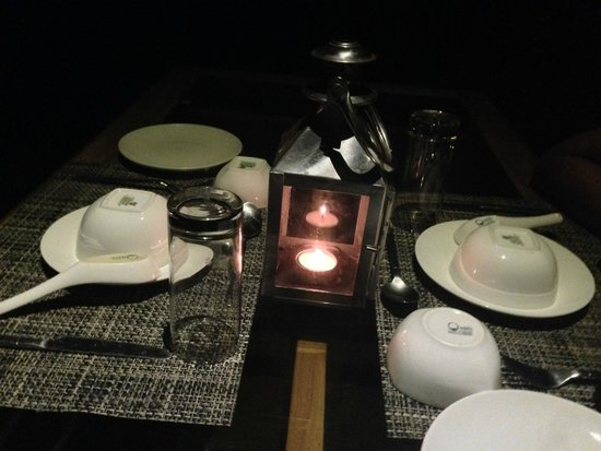The Machan: candle light dinner
