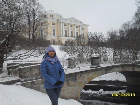 Pavlovsk Palace and Park: Павловский дворец