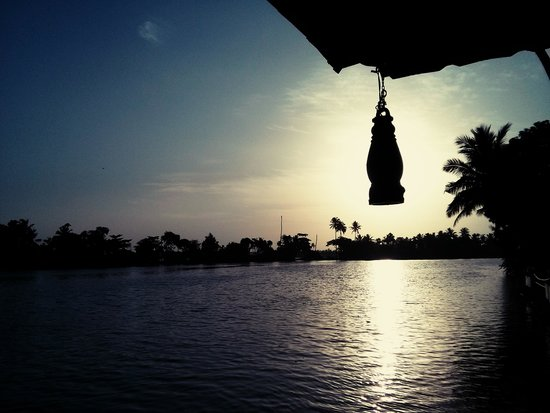 Riverine Resort : View from the Reception Area !