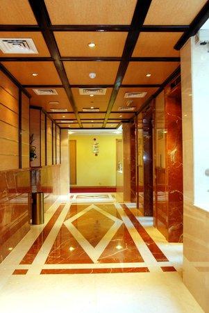 Moscow Hotel: Hallway