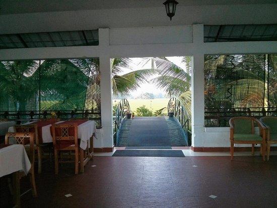 Riverine Resort : Reception Area ..