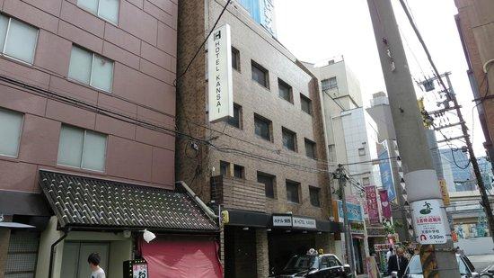 Hotel Kansai: 歓楽街の近く