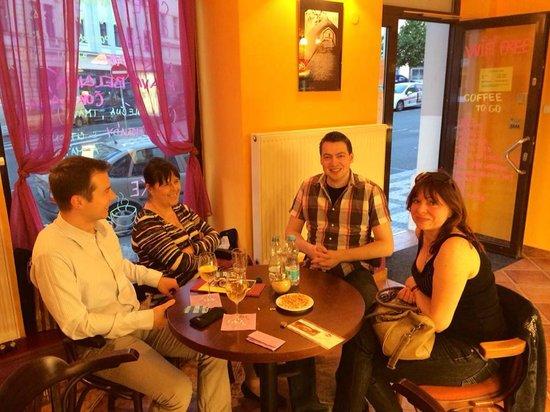 CafeSonia: Interiér kavárny