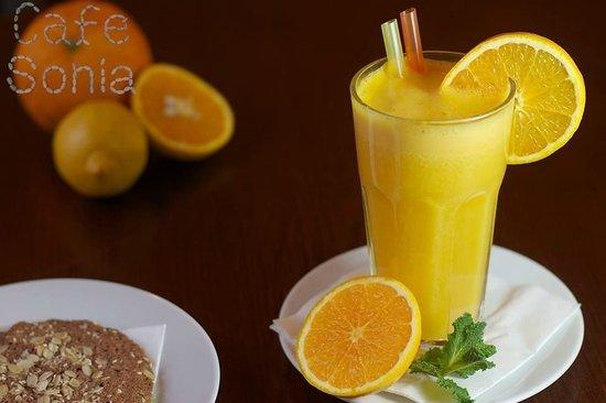 CafeSonia: Pomerančový fresh