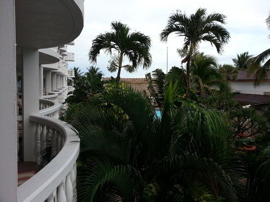 Beachcomber Resort and Villas: View from balcony