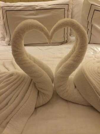 Rendezvous Hotel Singapore by Far East Hospitality: Swans Decorations