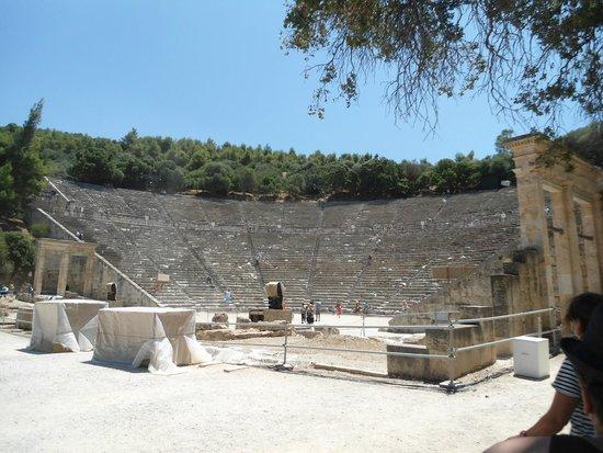 Théâtre d'Épidaure : Αρχαιο Θεατρο Επιδαυρου