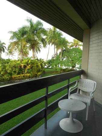 Holiday Inn Suva: View from room