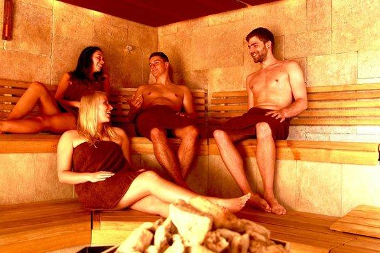 Asia Therme Wellness Spa: Sauna
