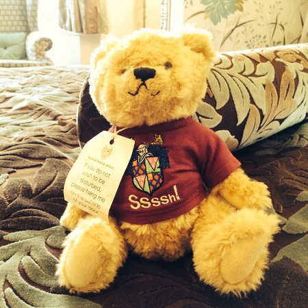 The Manor House Hotel and Golf Club: Sssh Bear - DND