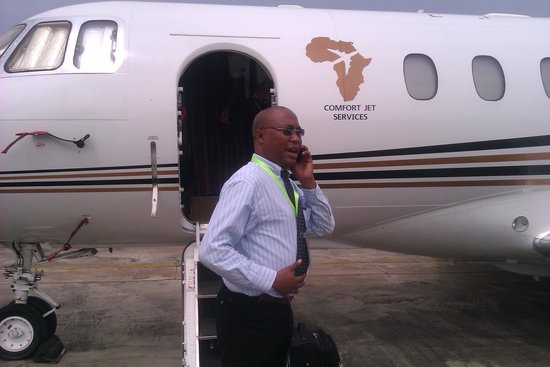 CHARTER FLIGHT  Picture Of Sao Tome And Principe Africa