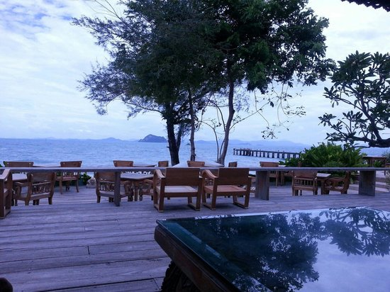 Santhiya Koh Yao Yai Resort & Spa : View from the bar