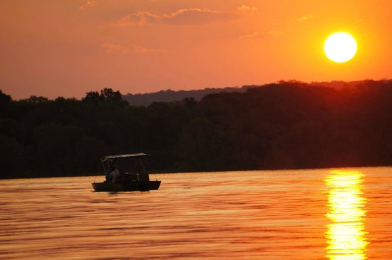 The River Club: Enchanting room overlooking the Zambezi