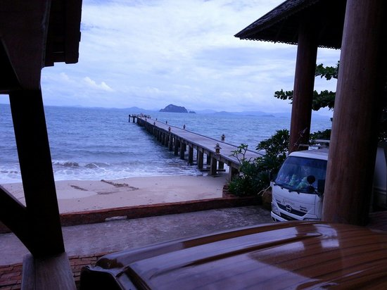 Santhiya Koh Yao Yai Resort & Spa : KOH YAO YAI pier