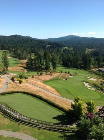 Westin Bear Mountain Victoria Golf Resort & Spa: view from my balcony