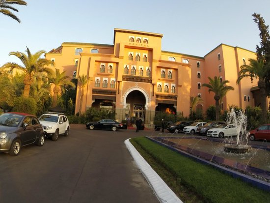 Sofitel Marrakech Lounge and Spa : Hotel
