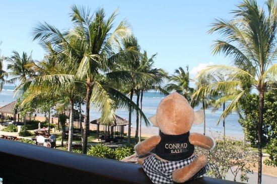 Conrad Bali: chambre ocean view