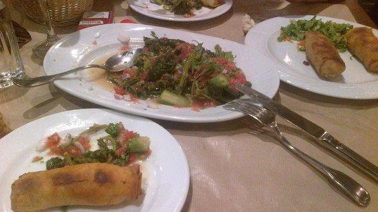 Tou Kostantaki : Βλήτα με σκόρδο και ντομάτα και γαριδοπιτάκια