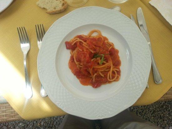 Locanda Casariccio : Pici all'aglione