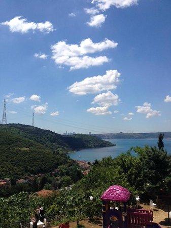 Anadolu Kavagi : Вид на Босфор