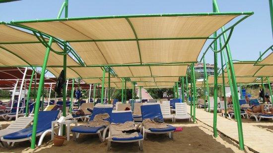 Diamond Elite Hotel & Spa : Plaża