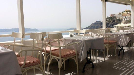 Ampelos Greek Restaurant & Wine Bar: The terrace view