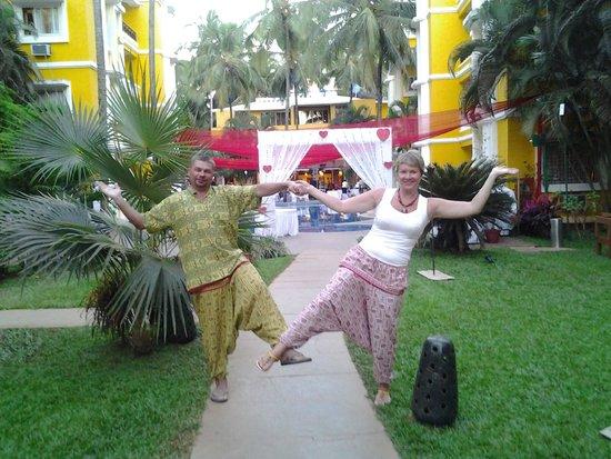 Adamo The Bellus Goa : На территории отеля