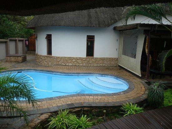 Lodge Afrique : piscine