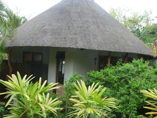 Lodge Afrique: entrée lodge