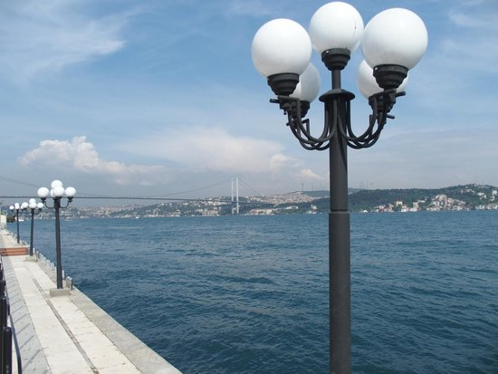 Ciragan Palace Kempinski Istanbul: Bosphorus Bridge