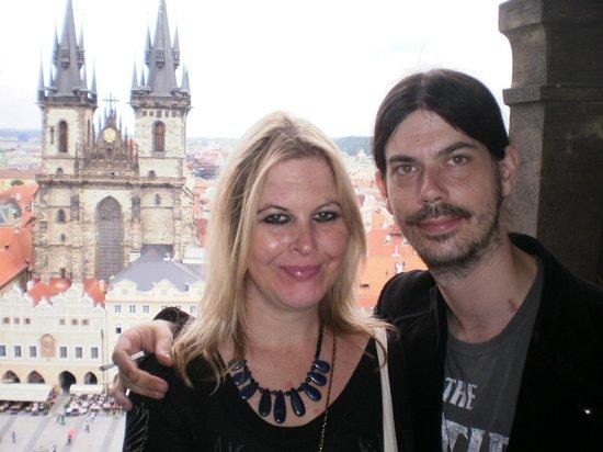 Vienna House Diplomat Prague: Prague visit : Top of Astronomical clock tower