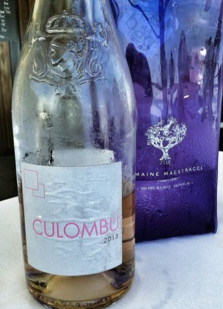 On Dine a Calvi Plage : AOC Vins de Corse