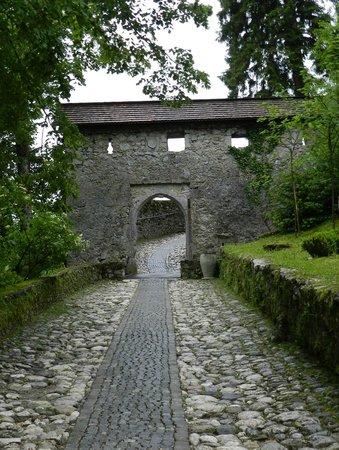Castillo de Bled: The entry gate