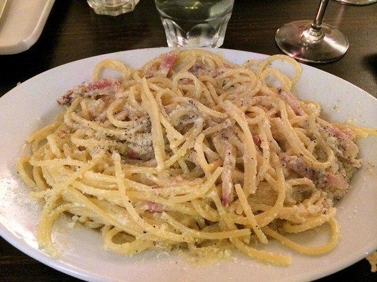 Zero Sei Trattoria Romana: The Spaghetti Carbonara!