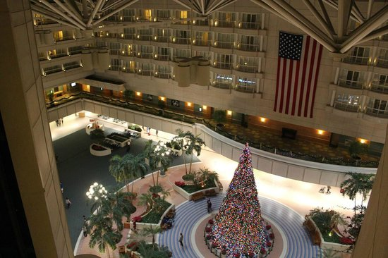 Hyatt Regency Orlando International Airport : ロビー付近