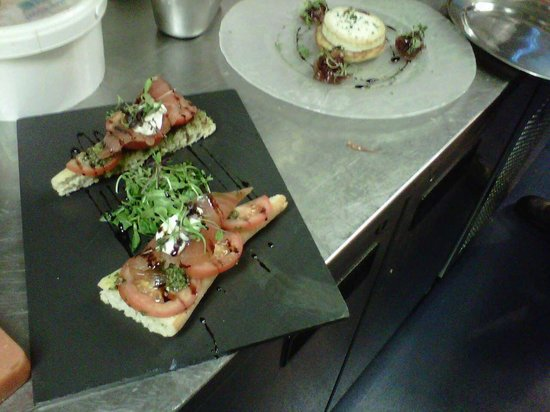 Gomersal Lodge Hotel: The food