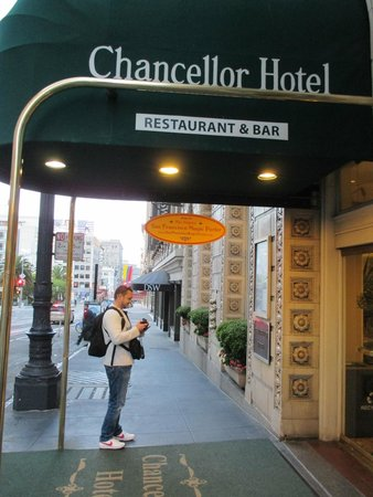 Chancellor Hotel on Union Square : Entrée