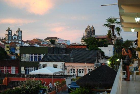Pousada da Mangueira : le camere si affacciamo su un panorama della città vecchia.foto cecilia polidori