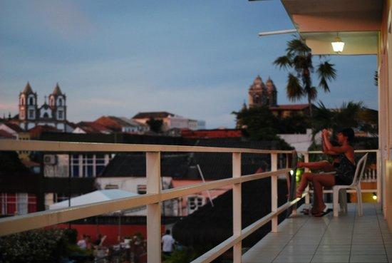 Pousada da Mangueira : le camere su ballatoio si affacciamo su un panorama della città vecchia.foto cecilia polidori