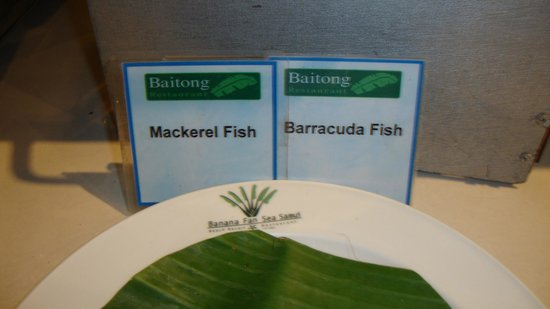Banana Fan Sea Resort : Dining