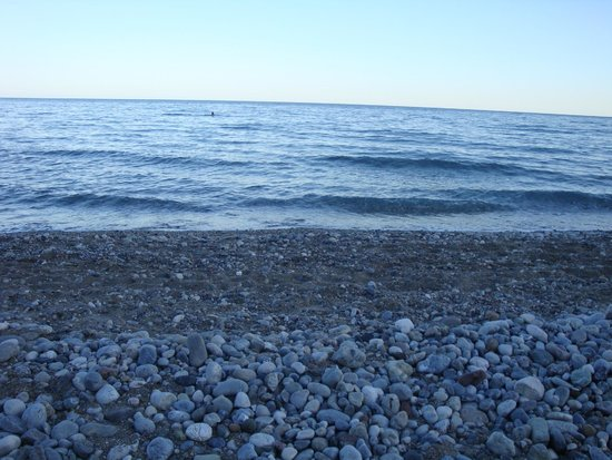 Rixos Beldibi: Пляж