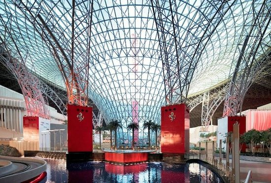 Ferrari World Abu Dhabi: ..interno
